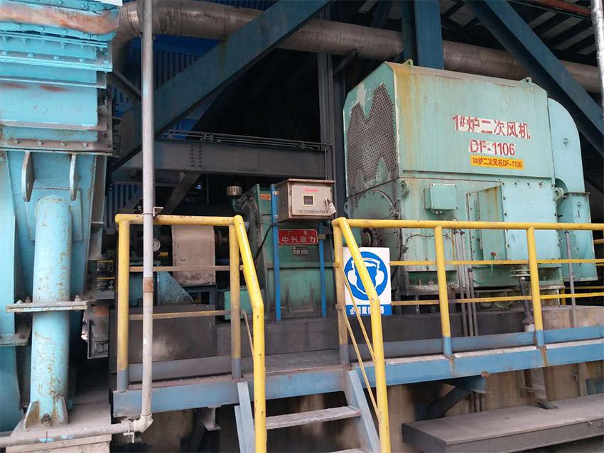 中石化宁波镇海炼化乙烯动力心自备电厂送风机、引风机配SVTL750、YOTCH1050共10台